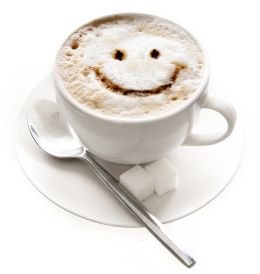 Face Time Friday Smiling Coffee